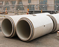 Gaskets for concrete pipes